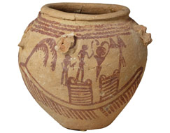 Picture of a ceramic vessel from Egypt