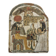 Picture of an Egyptian stela