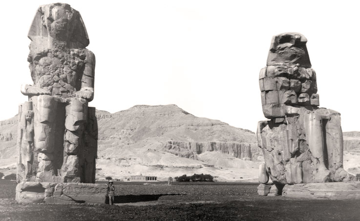 Photo of Colossi of Mennon Egypt