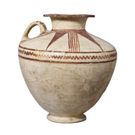 Ceramic vessel from the Levant