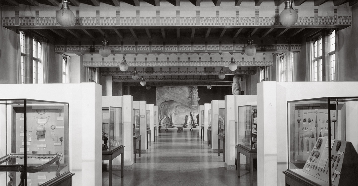 Galleries of the Oriental Institute Museum, 1930s